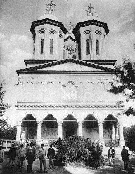Manastirea VAcaresti disparuta din Berceni
