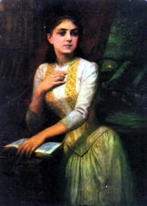 cavoul Iuliei Hașdeu portret
