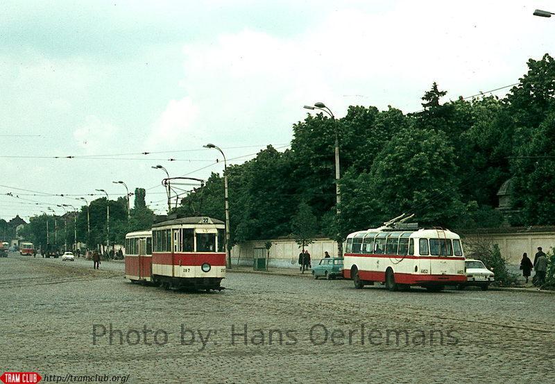 1973 hans oerlemans tramvai autobuz pieptanari