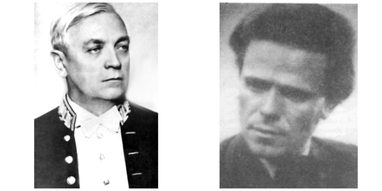 Liviu Rebreanu si Mircea Damian