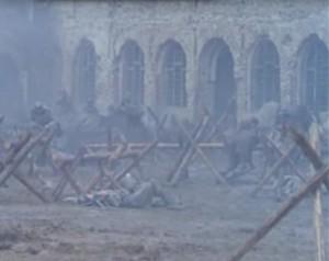 manastirea Vacaresti scene film