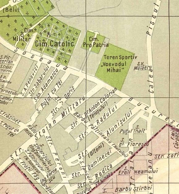stadion din Berceni harta