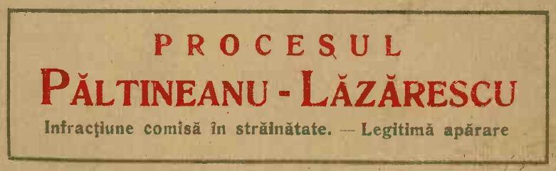 sursa Biblioteca marilor procese, 1923