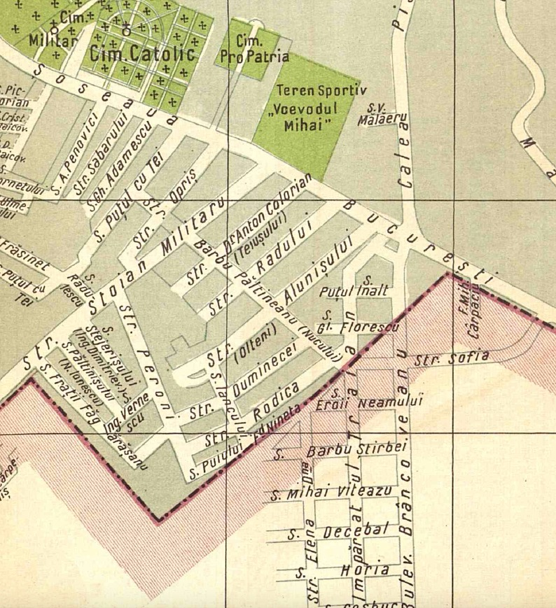 harta Berceniul vechi