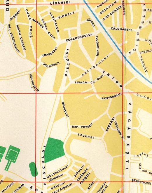 casa Orășelul Copiilor harta Livada cu Duzi