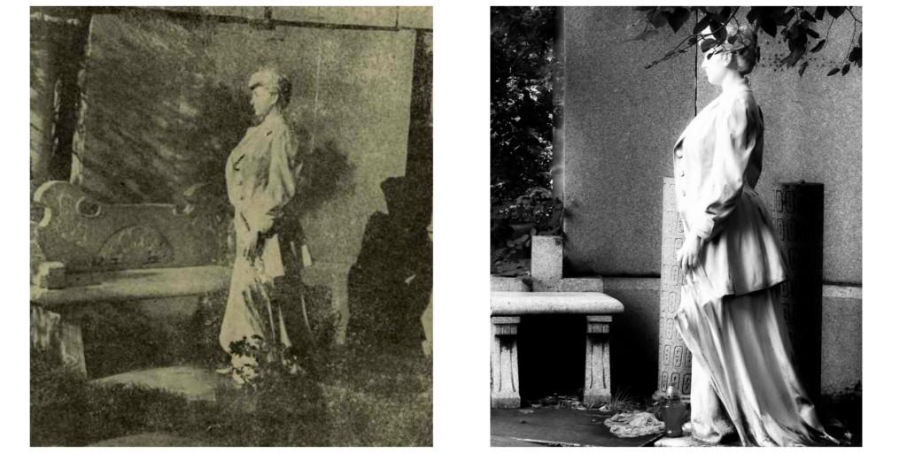 plimbare in cimitirul Bellu monument Katalina Boschott