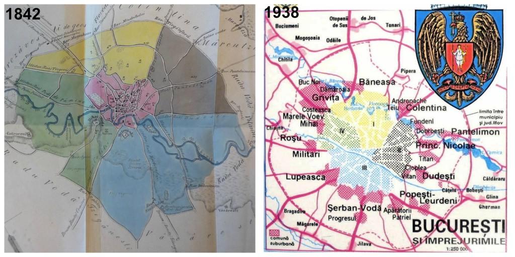 sectoarele Bucureștiului harti