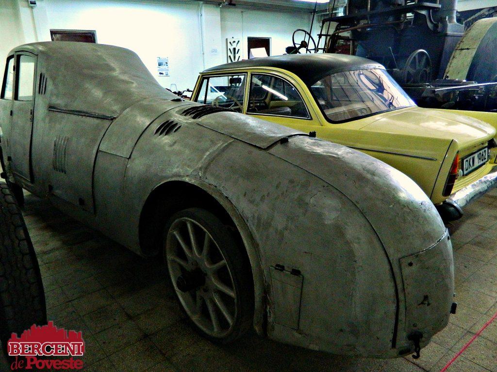 primul automobil aerodinamic Aurel Perșu