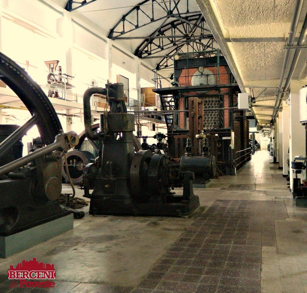 muzeul tehnic Leonida interior