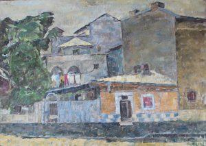 interviu Daniel Turliu pictură strada Pictor Ștefan Dimitrescu