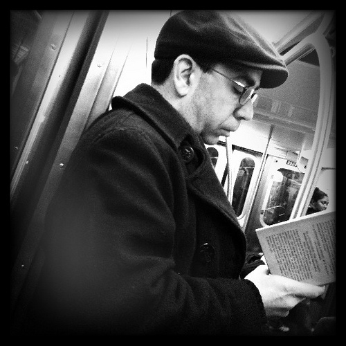 cartea la metrou
