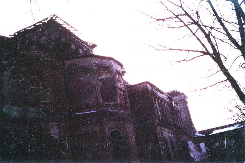 Biserica MVin timpul demolarii