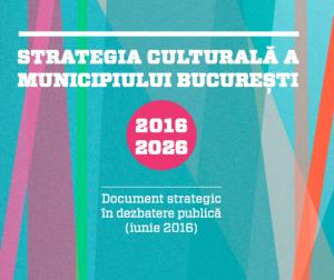 strategia culturală amfiteatrul din Berceni