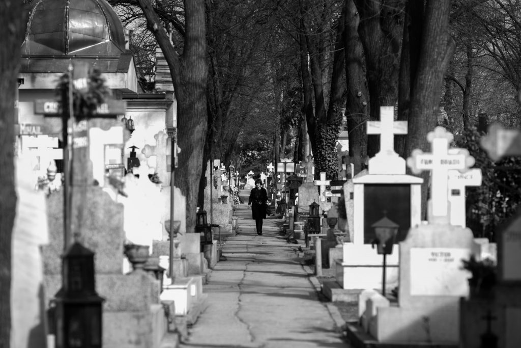 poveste din cimitirul Bellu