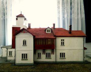 casa memorială Tudor Arghezi macheta