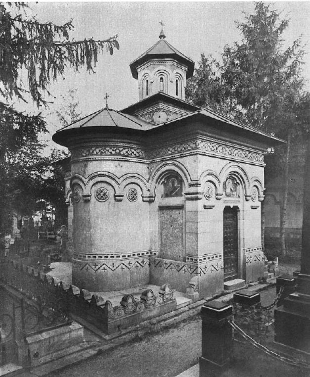monumentul Iacob Lahovary cavouri din Cimitirul Bellu