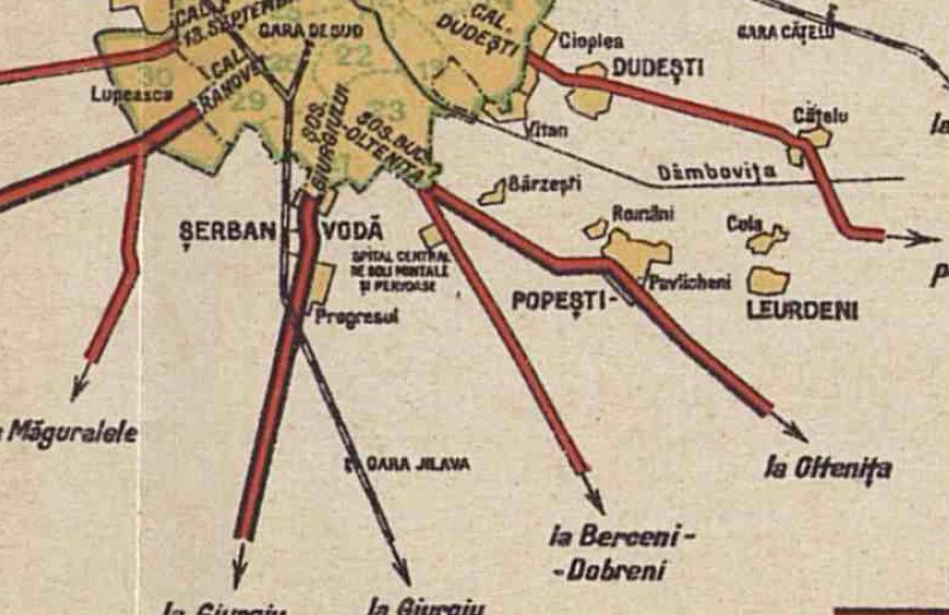 denumirea cartierului Berceni harta