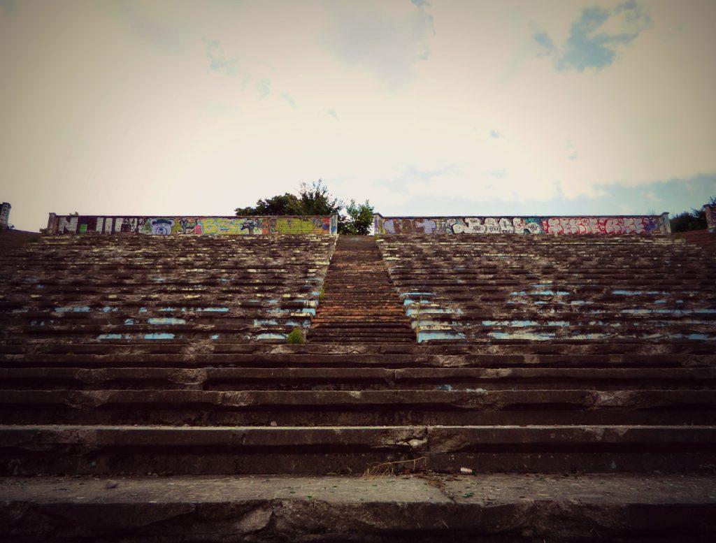 amfiteatrul de lângă Orășelul Copiilor