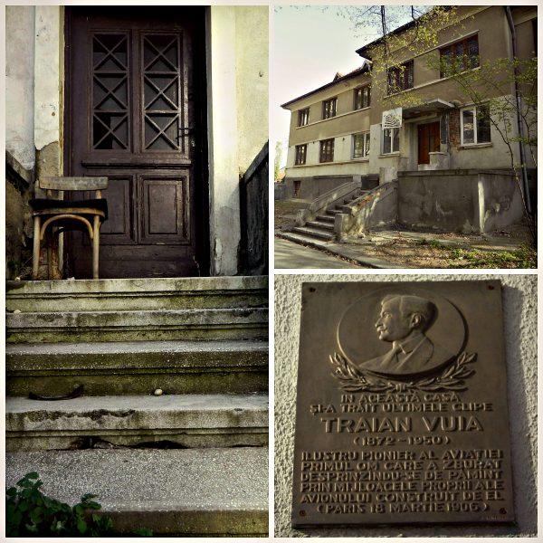 case de vizitat în Berceni Traian Vuia