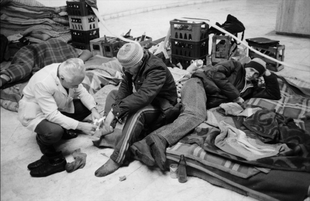 30.12.1989 Sursa: John Vink/Magnum Photos