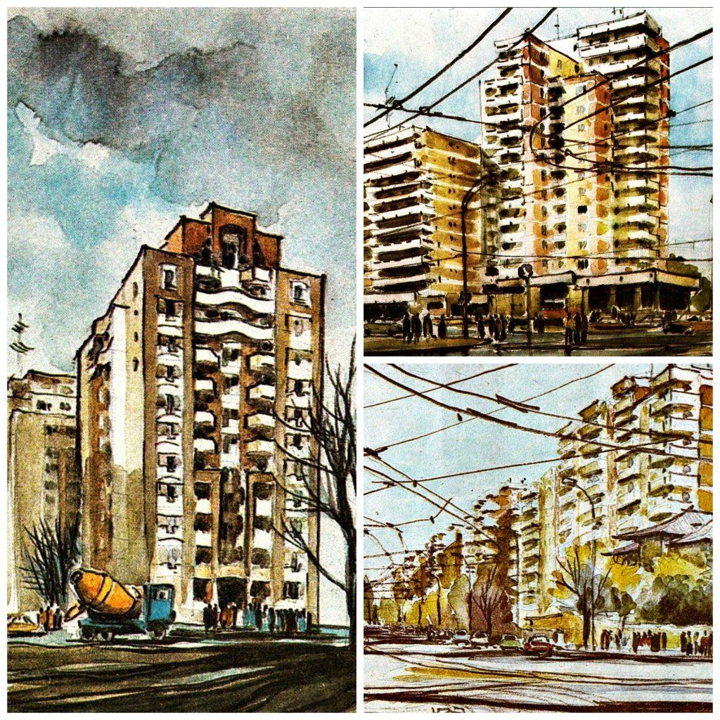 arhitectul cartierului Berceni picturi Gheorghe Leahu