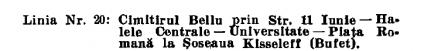 tramvai cimitirul Bellu
