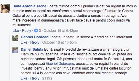 raspuns Daniel Baluta Flamura