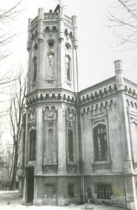 Casa Bosianu inainte de restaurarea din 1992. Sursa:http://ioana.associated.ro/portfolio/ansamblul-institutul-observatorului-astronomic/