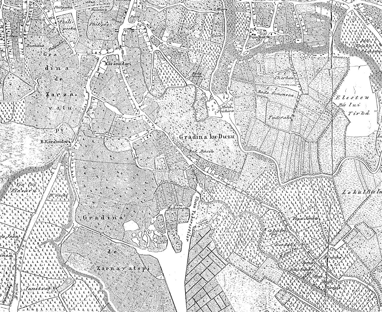 harta Borroczyn Gradina cu duzi
