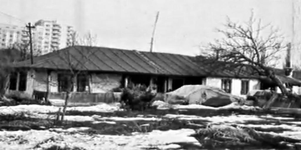 Casa unde s-a nascut Maria Tanase, strada Livada cu Duzi, nr. 13 Sursa:Captura ecran documentarul realizat in 1986 despre Maria Tanase