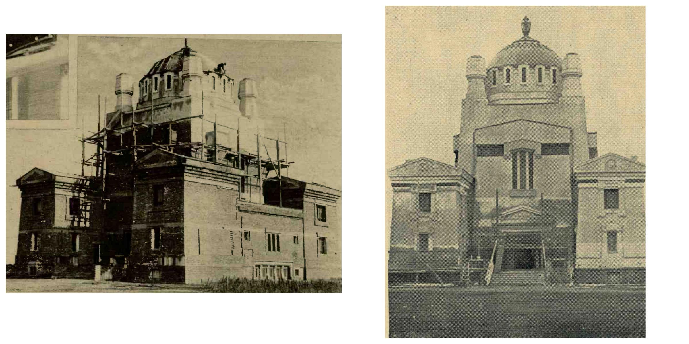 Sursa stanga:Realitatea ilustrată 3 decembrie 1931 Sursa dreapta: Ilustratiunea romana, 9 noiembrie 1932