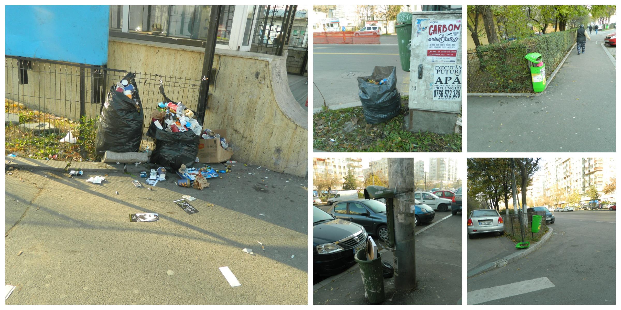 cosuri de gunoi sectorul 4