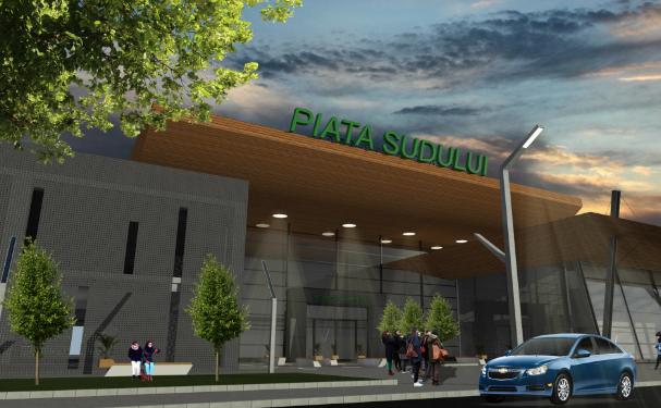 Proiect parcări Piața Sudului