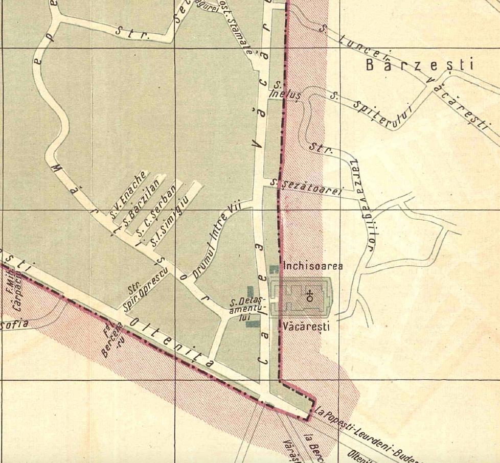 Sursa: Ghidul Unirea Municipiul Bucuresti si comunele suburbane, 1934