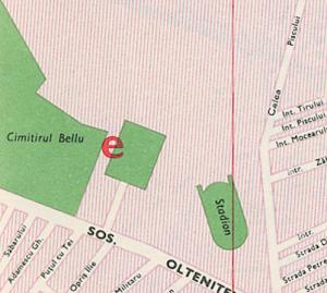Harta București 1969