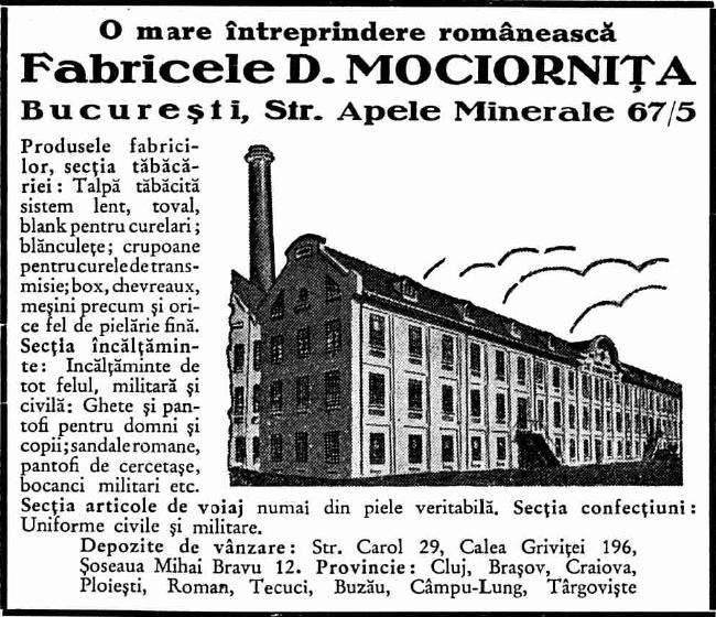 Sursa: Ghidul Bucureștilor 1935