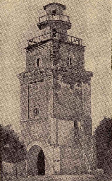 Turnul Colței după dărâmarea imobilelor de pe strada Colței Sursa: