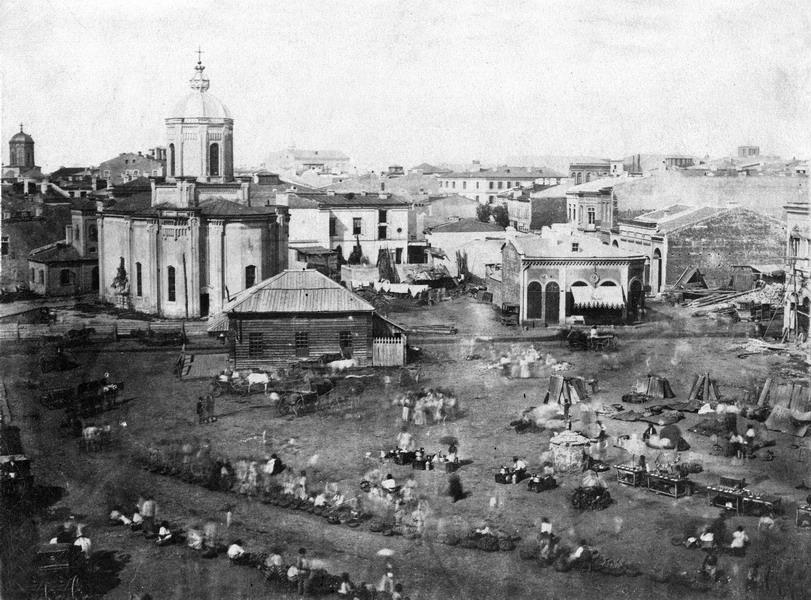 Ludwig_Angerer_1856_St_Anthonys_Market_Bucharest