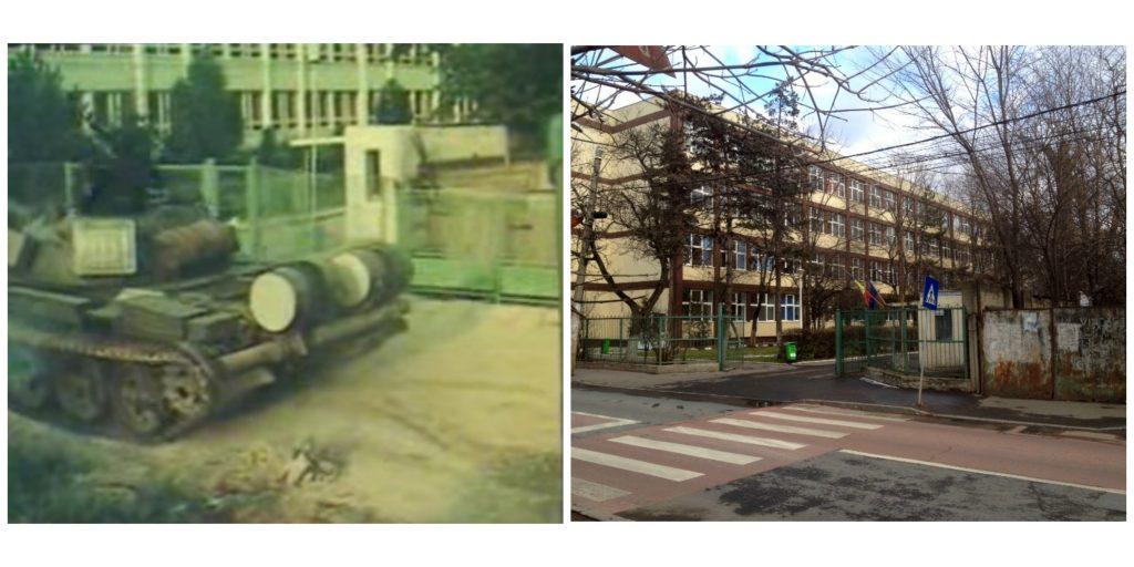 """stânga: """"Fata morgana"""" filmul / dreapta: foto Aly Ian (utilizator Facebook)"""