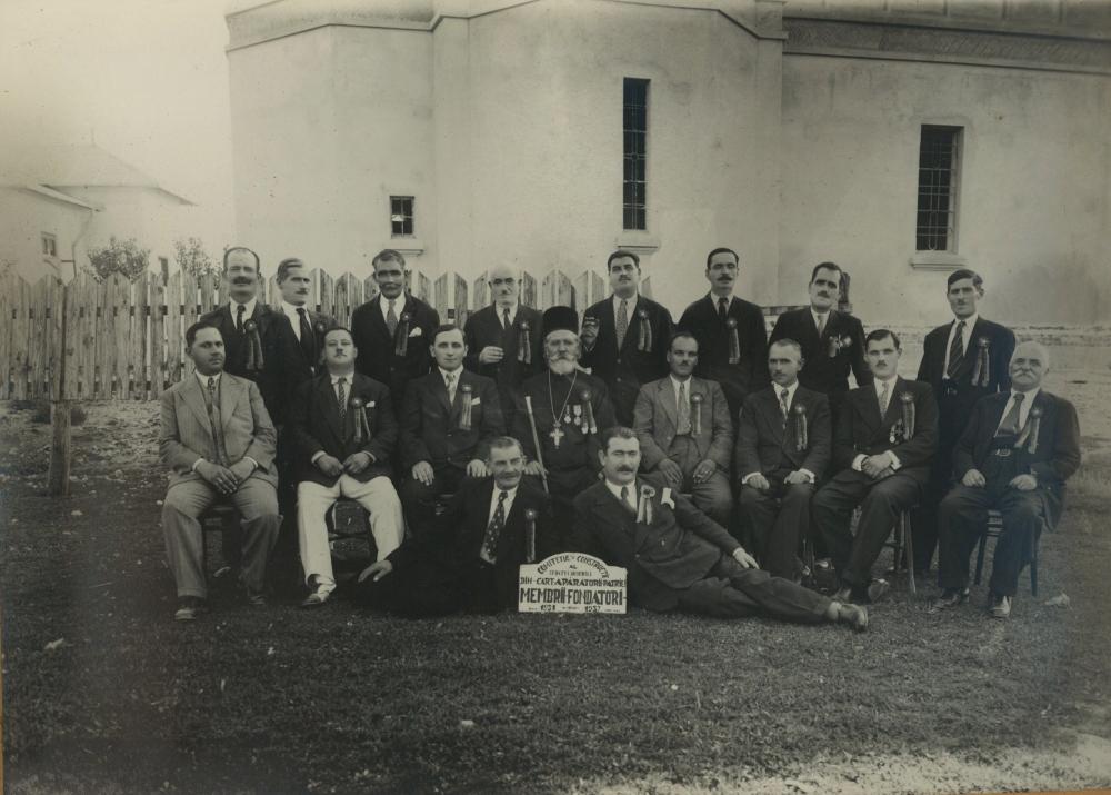 Grupul membrilor fondatori 1937, sursa: