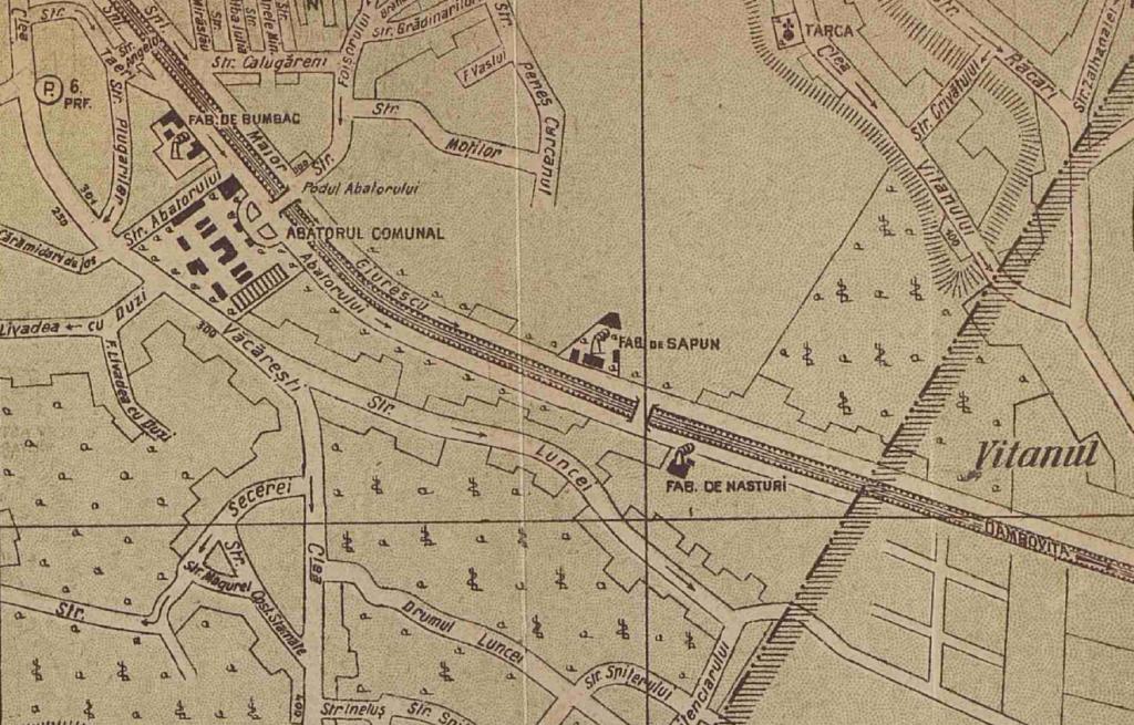 Plan și ghid al orașului București, V. Miorini