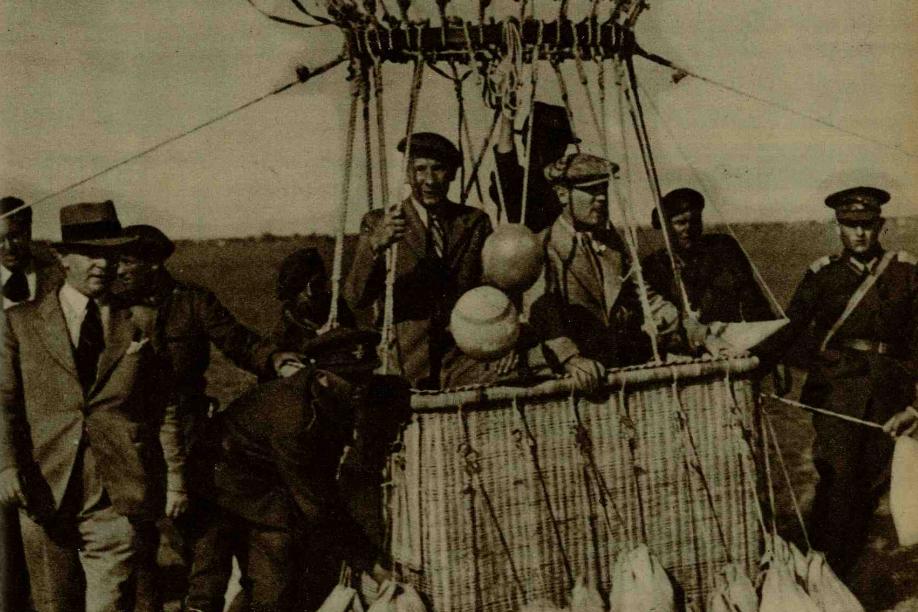 mitingul de aviație de la Băneasa 1936