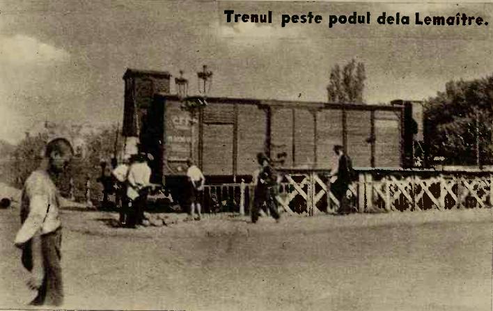 Trenul peste podul Lemaitre