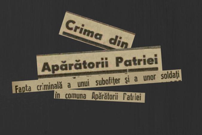crima din Aparatorii Patriei