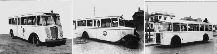 Autobuze vechi Renault, Chevrolet si Henschel Sursa: ratb.ro