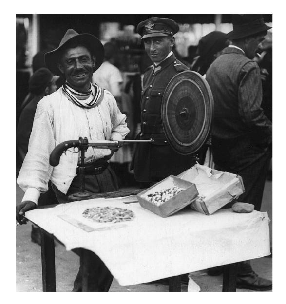 Tras la țintă, 1932
