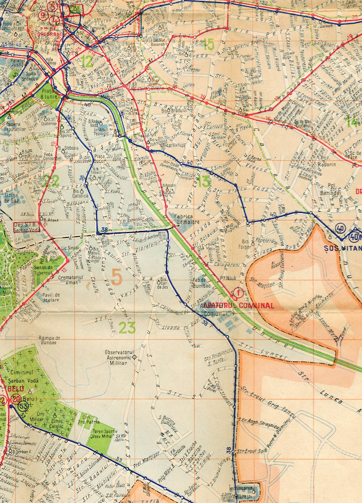Calea Văcărești, 1938