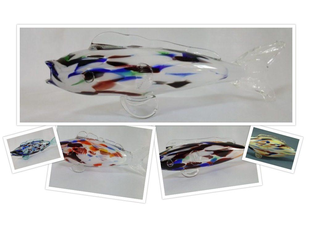 peștele din sticlă de Murano