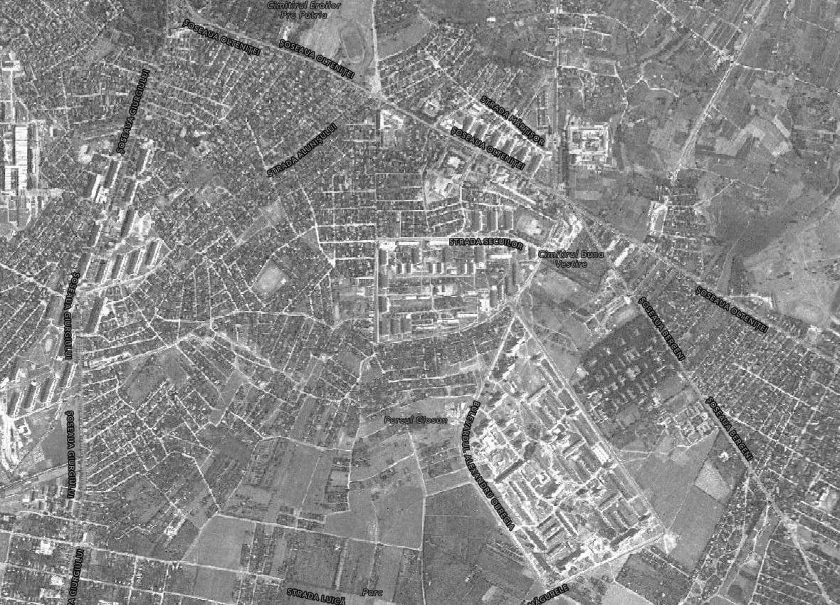 ansambluri locuințe Berceni 1966