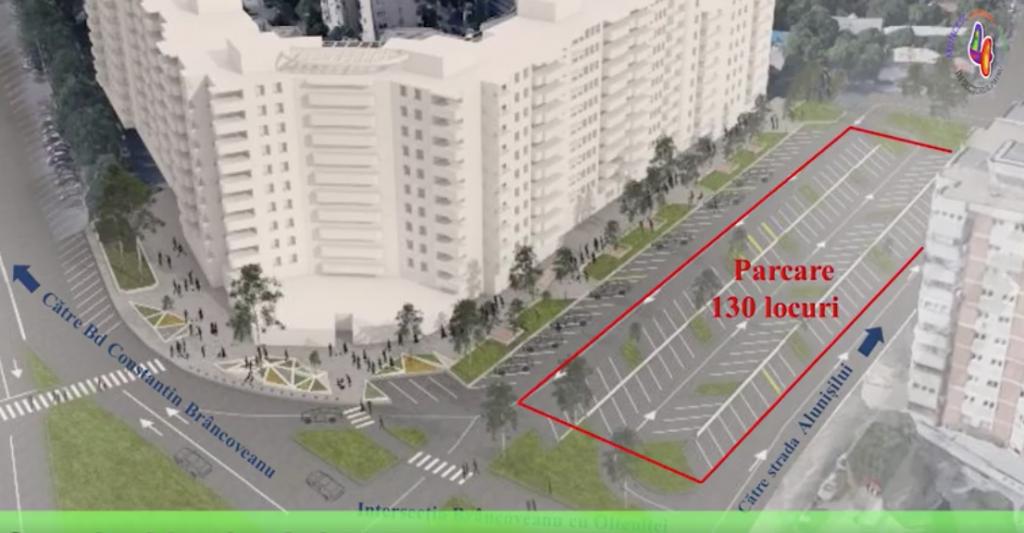 Cum vor arăta noile parcări de pe arterele Berceni, Obregia, Tineretului și Alunișului